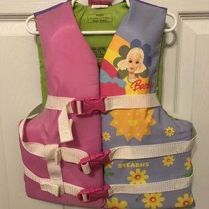 Kids Barbie Life Jacket